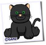 black catwebkinz